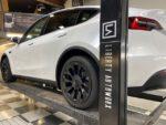 Tesla Model Y side angle