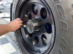 Toyota Tacoma Aftermarket Wheels ceramic coating