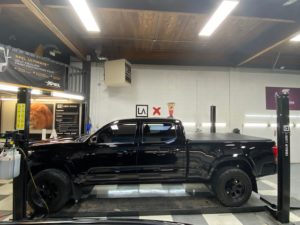 Toyota Tacoma Paint Correction and Ceramic Coating Side View